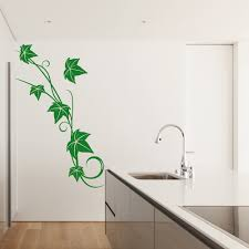 decorative pattern wall stickers iconwallstickers co uk ivy vine swirls climbing poison ivy floral design wall stickers home art decal