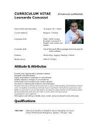 what is a chef de cuisine cv leonardo concezzi 2012