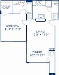 1 2 3 4 bedroom apartments in orlando fl camden world gateway blueprint of monclair floor plan 1 bedroom and 1 bathroom at camden world gateway apartments