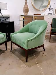 Mid Century Modern Swivel Chair by Chair Mid Century Modern Green Swivel Slipper Chairs Ebay Mint