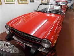 Tr6 Interior Installation 1971 Triumph Tr6 Classiccars Com Journal
