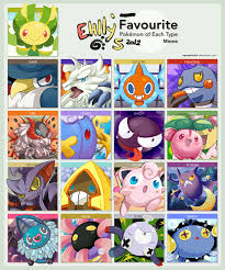 Favorite Pokemon Meme - favorite pokemon meme by ehllychan on deviantart