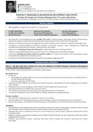 Product Manager Resume Samples by Sample Resume Of Product Management Resume Resume Templates