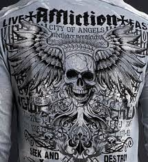 ls online promo code affliction private ls slit neck tee affliction t shirts shop