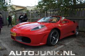 fake ferrari body kit toyota mr2 turned into ferrari f430 replica showcased at meeting