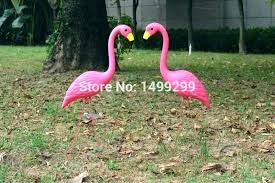 pink flamingo garden pink flamingo in garden stock photo pink