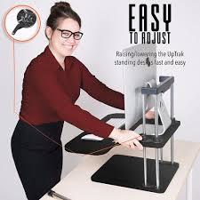 Schreibtisch H Enverstellbar Online Shop Sikai Steh Schreibtisch Riser Einfach Bis