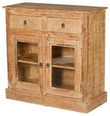 wild west wood mini buffet display cabinet rustic buffets and
