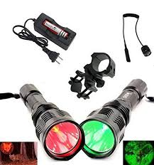 best green light for hog hunting this is a genuine high quality bestfire brand led flashlight set