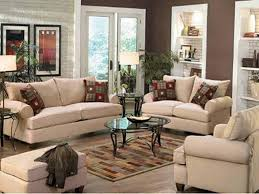 attractive living room decor ideas with beige fabric sectional