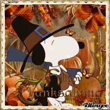 snoopy thanksgiving wishes picture 118246368 blingee