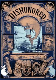 Dishonored Map Dishonored Outsider Journal Notebook Diary By Vanyanie On Deviantart