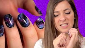 regular people try pinterest nail art youtube