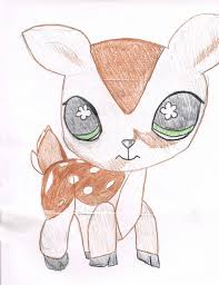 littlest pet shop deer asladdict deviantart littlest pet