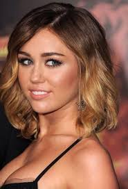 curly lob hairstyle miley cyrus haircuts and hairstyles 20 ideas for hair of any length