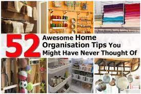 52 awesome home organization tips you might have never thought