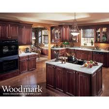 american woodmark kitchen cabinets like the range hood glass