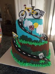 Bicycle Themed Home Decor Mountain Bike Cake By Divadebscakes Cakesdecor Com Cake
