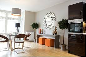 contemporary dining room decorating ideas funky mirrors for contemporary dining room decorating ideas with