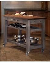 mobile kitchen island walnut kitchen islands carts bhg com shop