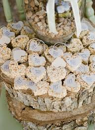 wedding seed favors bird seed favors archives southern weddings