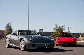 Ferrari 458 Drifting - ferrari 599 gtb and ferrari 458 italia meet 246 dino in melbourne