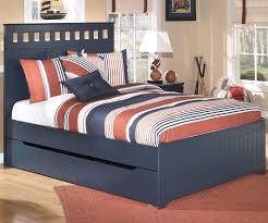 Ashley Furniture Mattress Leo B103 Full Size Panel Bed With Trundle Ashley Furniture