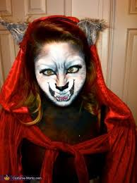 little red riding hood the wolf halloween costume photo 3 4