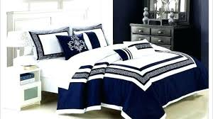Linen Bedding Sets Blue Bedding Sets Spacious Navy Blue Comforters And White