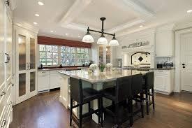 grande cuisine avec ilot central cuisine avec îlot central de grande photographie lmphot 8671423
