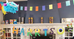 Monster Inc Decorations Monster Party Decorations The Crafty Mommy Jpg 575 307