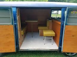 Camper Interiors 1966 Volkswagen Panel Bus With Camper Interior