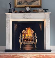 electric fireplace with double white legs and white mantel piece