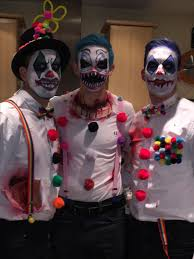 Scary Halloween Clown Costumes 25 Scary Clown Face Ideas Scary Carnival