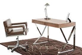 Modern Walnut Desk Modrest Ferris Modern Walnut Office Desk By Vig Furniture