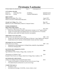 Resume Best Sample by Actuarial Resume Best Template Collection