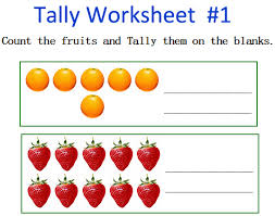 tally number kindergarten math worksheets free kindergarten