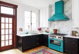 colored kitchen cabinets with stainless steel appliances are colorful kitchen appliances the next big trend bluestar