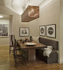 Best Dining Room Bench With Back Images Home Design Ideas - Dining room tables with a bench