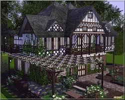 Tudor Houses by Arda Sims Tudor House Iii
