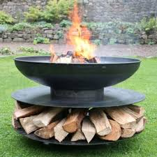Large Fire Pit Ring by Ring Of Logs Fire Pit A Bell Outdoor Living
