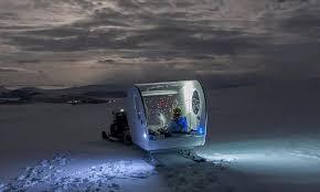 sleep under the northern lights aurora bubble sled cing in the arctic under the northern lights