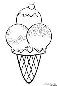 fruit pictures to coloring pages 12 ice cream coloring pages