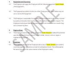 employment contract template home worker the legal stop