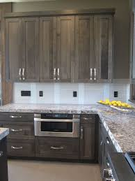 Grey Kitchen Cabinet Ideas Best 25 Gray Stained Cabinets Ideas On Pinterest For
