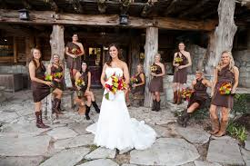brown bridesmaid dresses for country wedding overlay wedding dresses
