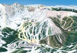 Colorado Mountain Map by Arapahoe Basin Ski U0026 Snowboard Area Trail Maps
