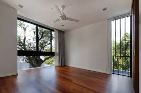 modern white wall modern house wood floor with wooden floor and