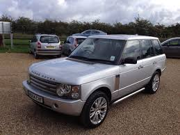 blue range rover vogue used land rover range rover 30 td6 vogue 4dr auto face lift model
