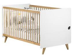 chambre bébé casablanca lit évolutif 70x140 blanc bois oslo vente en ligne de chambre